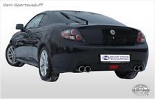 Fox Duplex Sportauspuff Hyundai Coupe GK Tiburon Facelift ab 2006 2x90mm rund