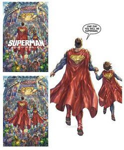 SUPERMAN SON OF KAL-EL #1 PRESALE ALAN QUAH 3 BOOK VARIANT SET HOT
