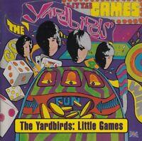 NEW CD Album Psychedelic 60's Yardbirds - Little Games (Mini LP Style Card Case)