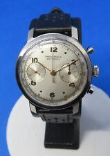 Chronographe AMI Watch Landeron 48, acier inox, vintage, révisé, exceptionnel