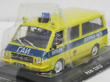 RAF 22033 Polizei GAI -- gelb-- 1/43--IXO/IST/Kultowe Auta PRL--NEU--OVP