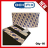 16X NUMBER PLATE ADHESIVE STRIPS STICKY PADS HEAVY DUTY DOUBLE SIDED FIXING KIT