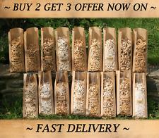 BARBECUE FUMARE trucioli di legno o cibo Fumatore legno 5 x 3L Apple Oak Alder Ciliegio Hickory