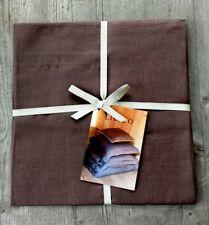 Libeco Belgium 100% Linen Santiago Pillow Sham – Cafe Noir – New