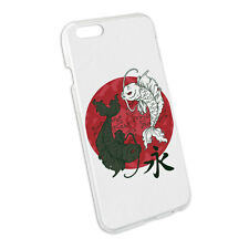 Yin and Yang Red Moon - Japanese Asian Koi Carp Fish Case for Apple iPhone 6 6s