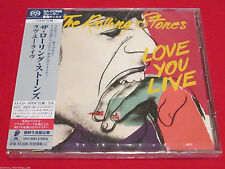 THE ROLLING STONES - LOVE YOU LIVE - JAPAN JEWEL CASE SACD SHM CD - UIGY-9588