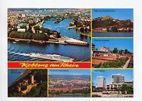 AK Koblenz am Rhein Ehrenbreitstein Deutsches Eck Schloß Stolzenfels Rhein