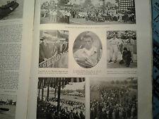 L'illustrazione italiana 1929 AUTODROMO DI MONZA Achille Varzi Brilli-Peri Duray