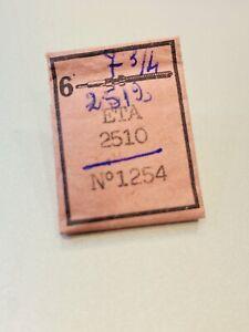 ETA 2510 2512 Albero di carica Tige Winding stem Aufzugwelle