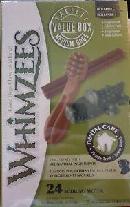 Whimzees Variety Box, Toothbrush, Crocodile, Chews. Dog Treats Natural Dental