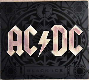 AC/DC Black Ice CD Neuwertig DIGIPAK Meisterwerk HITALBUM Kult ROCK Blues POP!!!