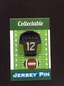 Seattle Seahawks 12th fan jersey lapel pin-#1 Best Seller