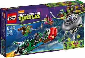 LEGO Teenage Mutant Ninja Turtles T-Rawket Sky Strike Set 79120