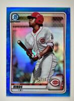 2020 Bowman Chrome Prospects I Blue Refractor #BCP-41 Rece Hinds  /150