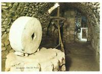 Jerusalem: Old Oil Press, Bethany, Israel, Palestine Rare Postcard