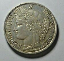 More details for france, government of national defence, 5 francs 1870 a (paris mint)