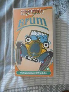 Very Rare My little Brum VHS VIDEO UK Pal VGC