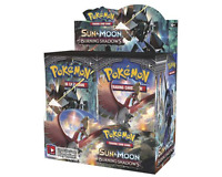 Sun & Moon Burning Shadows 9 Booster Pack Lot 1/4 Booster Box POKEMON TCG