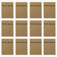 100Pcs Paper Earring Hanging Cards Jewelry Display Tags for Earrings Ear Studs