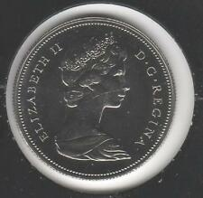 1970 Prooflike EXTREMELY CHOICE BU Nickel Canadian Half Dollar #1