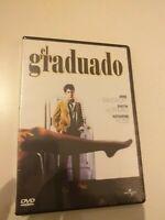 Dvd el graduado con dustin hoffman    ( precintado nuevo )