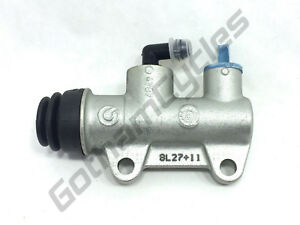 OEM Ducati 749 / 999 Brembo 11mm Rear Brake Caliper Master Cylinder Pump Silver