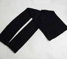 Girls Classic StretchFootless Black Pantyhose Tights Sz 4-5