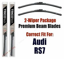 Wipers 2-Pack Premium - fit 2014+ Audi RS7 - 19260/210