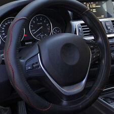 38cm Universal Auto Lenkradabdeckung PU Nein verblassen Black&Red rutschfest