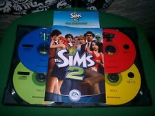 THE SIMS 2 MAIN GAME 4 DISC CD VERSION PC V.G.C. FAST POST ( simulation game )