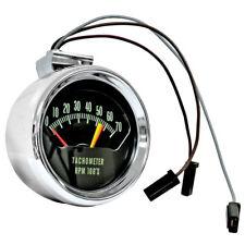 Console Tachometer Chrome 5600 Red Line Dynacorn 1966 Chevelle El Camino