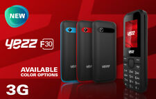"""Brand New Yezz F30 Cell phone 1.8"""" Bluetooth 4G Camera Multitouch Red Blue Black"""