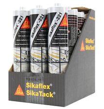 (15,08€/L) 12x SIKAFLEX 221 SCHWARZ 300ML DICHTMASSE DICHTSTOFF DICHT 1 KARTON
