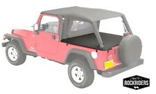 2004-2006 Jeep Wrangler Unlimited Tonneau Tonno Deck Cover in Black