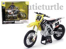 New Ray Suzuki RM-Z450 Dirt Bike Motorcycle 1:12 #94 Ken Roczen Yellow 57747