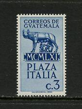 Guatemala 1961  #383  Romulus & Remus statue    1v.  MNH  K209