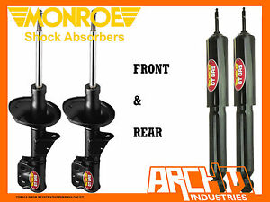 MINI COOPER R56 HATCH 10/06-7/10 F & R MONROE GT GAS SHOCK ABSORBERS