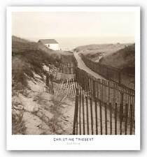ART PRINT Dune Fence Christine Triebert