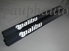 Malibu LOGO Trailer Guide Pads  Black 2""