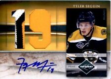 Tyler Seguin 2010 Panini Limited RC Auto/3-Color Patch #/5 Stars/Bruins FREE SH