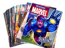 REVISTAS SUELTAS COMICS COLECCIONES MARVEL FIGURINE Y DC SUPERHERO EN INGLES