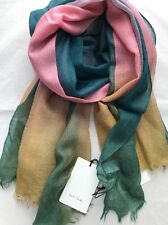 Paul Smith Women Scarf Four Other Edge Made In Italy RRP£179