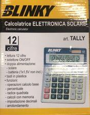 CALCOLATRICE SOLARE BLINKY ELETTRONICA ART. TALLY 12 CIFRE  COD.99730-10/9