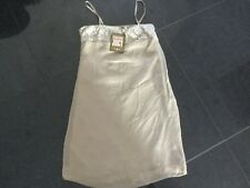 NWT Juicy Couture New & Genuine Ladies Size 8/10 UK Gold Sleeveless Slip Dress