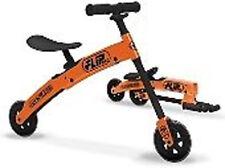 FLIP BIKE - Fold Up Flip Click & Go Balance Bike ORANGE
