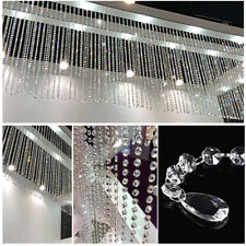 12pcs Wedding Acrylic Garland Diamond Crystal Bead Clear Chandelier Hanging US