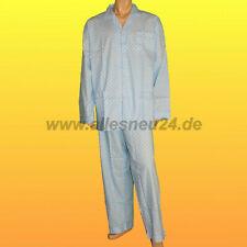 Herren Schlafanzug lang gewebte Baumwolle (Gr. 62 & 64) von Atisa in hellblau 2