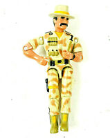 Vintage Lanard 1986 The Corps! Action Figure Cowboy Army Military CROC
