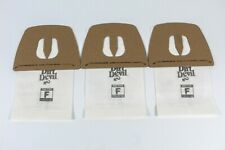 3 Pack Genuine Dirt Devil Vacuum Cleaner Bags Type F Canister Filter