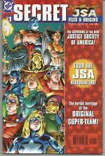 JSA : Secret Files #1 : 1st App Kendra Saunders (Hawkgirl) : August 1999